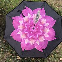 ✅Зонт ПИОН smart Анти Зонт обратного сложения д110см 8 спиц умный зонт зонт наоборот UP-BRELLA UN-unbrella