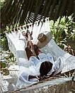 Платье-туника пляжные с кружевными вставкам (1 цвет), фото 4