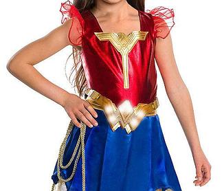 Золотой пояс Чудо-женщины со световыми эффектами - Wonder Women, Belt, Batman v Superman, Imagine
