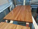Деревянная столешница из дерева массив ясеня для стола в ресторан и кафе, фото 5