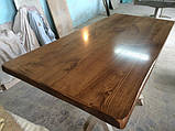Деревянная столешница из дерева массив ясеня для стола в ресторан и кафе, фото 2