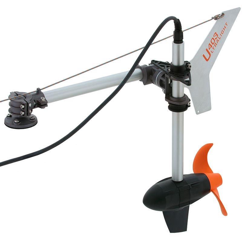 Лодочный электромотор Torqeedo Ultralight 403 для каяков (с литиевой батареей)