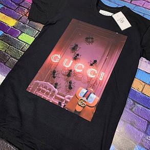 Футболка чёрная • Gucci , фото 2