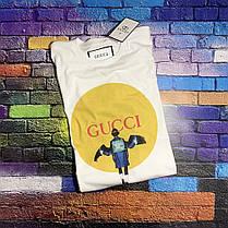 Белая футболка Gucci Girl. Люкс  , фото 2