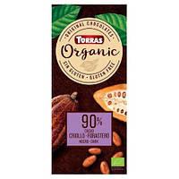 "Шоколад ""90% какао"" Torras Organic, 100 г"