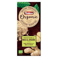 """Шоколад """"Мака перуанская и имбирь"""" Torras Organic, 100 г"""