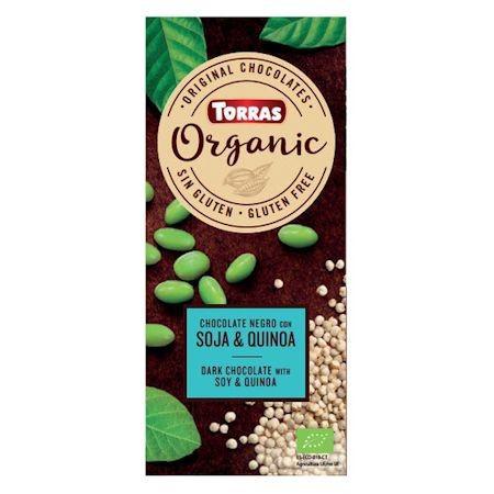 """Шоколад """"Киноа и соя"""" Torras Organic, 100 г"""