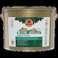 Износостойкая лазурь для деревянных фасадов Eskaro Wood House 9л