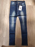 Джинсові брюки для дівчаток S&D 4-16 років, фото 1