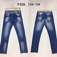 Джинсы для мальчиков оптом, F&D, 134-164 см,  № F369, фото 1