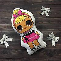 """Подушка-метрика (именная подушка) """"Кукла LOL"""" Sis Swing"""