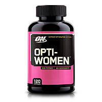 Комплекс витаминов Опти вумен, Optimum Nutrition, Opti-Women, 120 таблеток