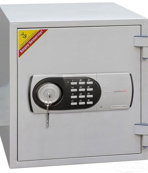Сейф огнестойкий с электронным замком и ключом 125EК