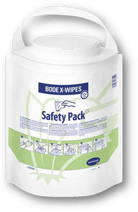Салфетки BODE X-Wipes в безопасной упаковке, 90 шт