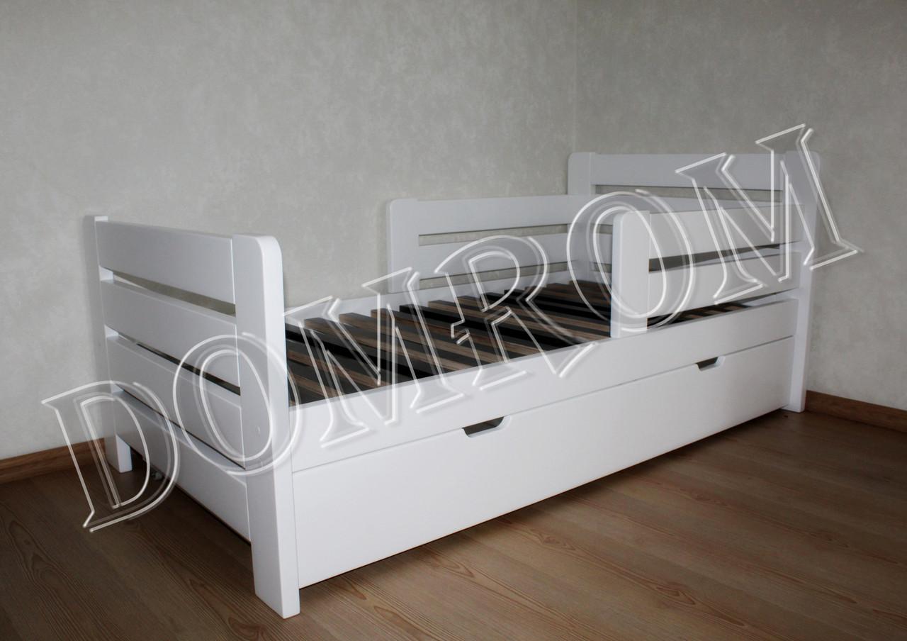 """Белая подростковая кровать """"Джек"""" односпальная из дерева в Одессе - фото 5"""