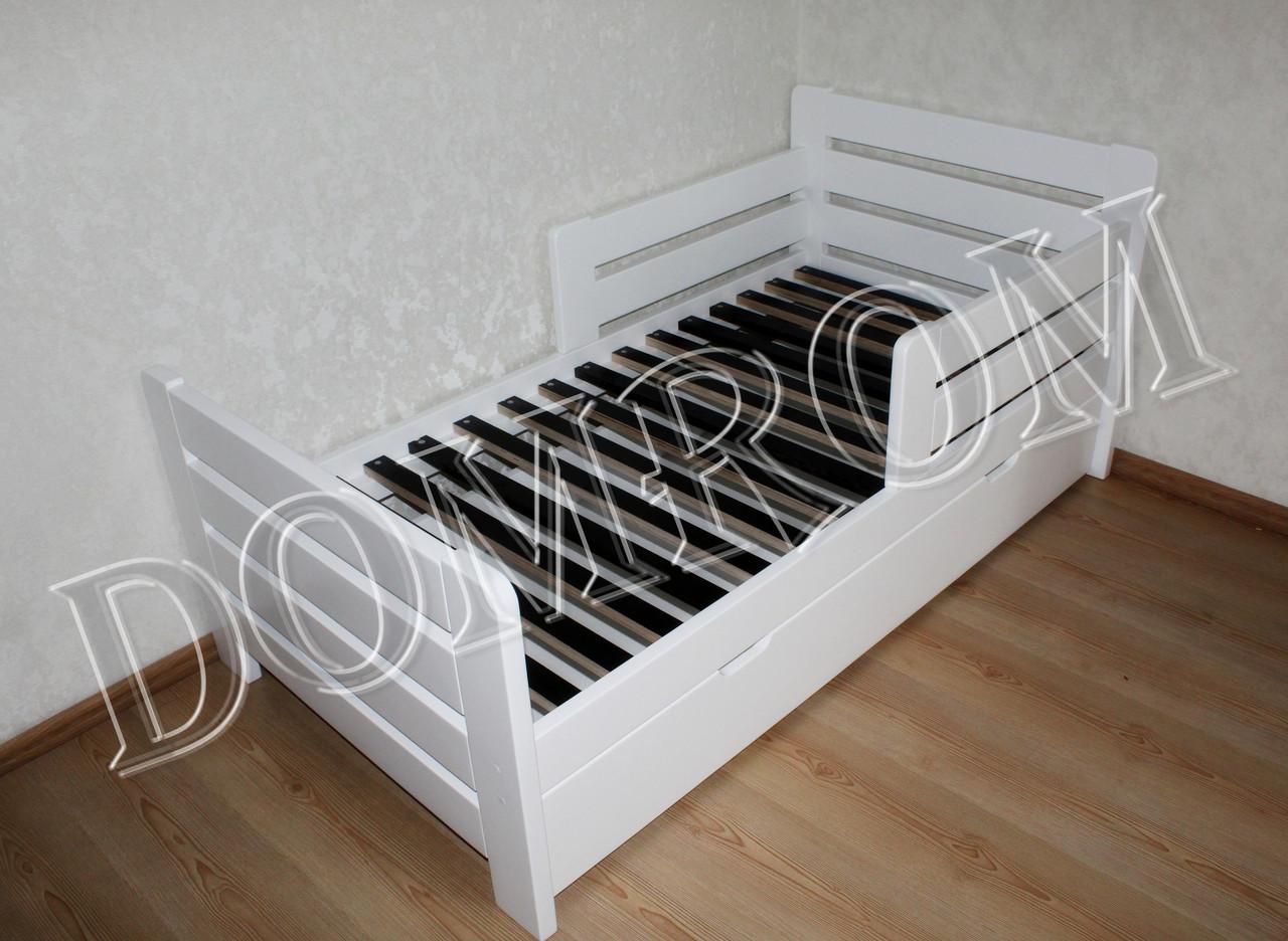 """Белая подростковая кровать """"Джек"""" односпальная из дерева в Одессе - фото 6"""