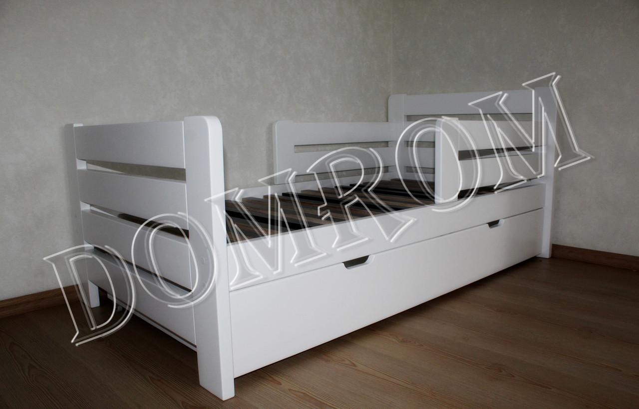 """Белая подростковая кровать """"Джек"""" односпальная из дерева в Одессе - фото 8"""