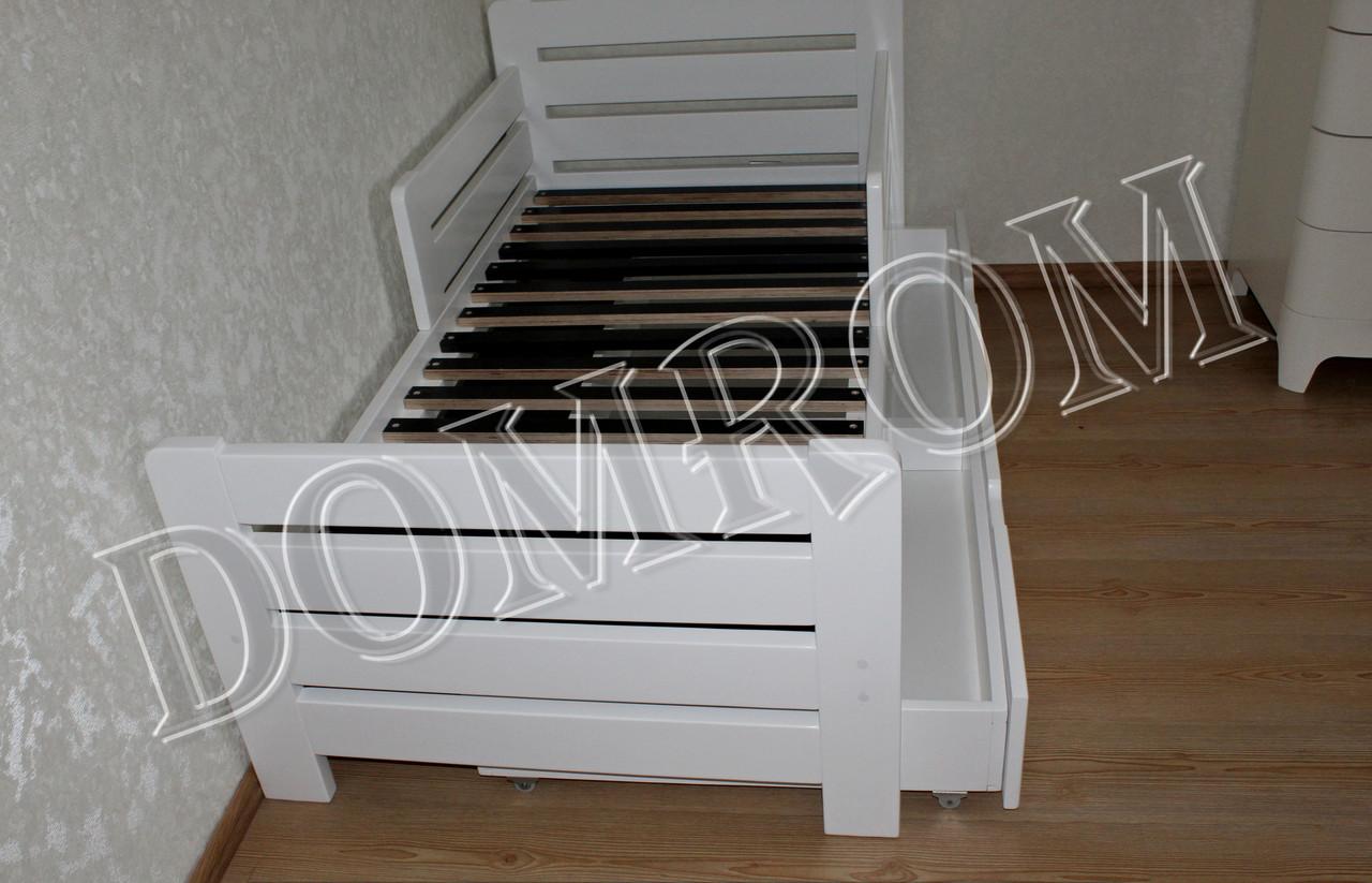 """Белая подростковая кровать """"Джек"""" односпальная из дерева в Одессе - фото 9"""