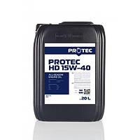 Моторное масло PROTEC HD 15W-40 CH-4/SL 20л