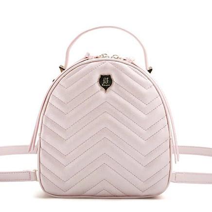 Рюкзак-сумка городской женский FULANPERS  (жемчужно-розовый)