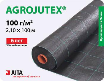 Тканный агротекстиль Agrojutex 100г/м2, 2,1м*100м