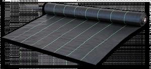 Агроткань от сорняков PP, UV, 100 гр/м² размер 1,6м*100м черная