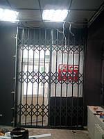 Раздвижные решетки с монтажом на сварку, фото 1
