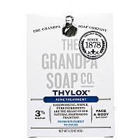 Мыло для лица и тела от акне Thylox Acne Treatment, Grandpa's (92 г)