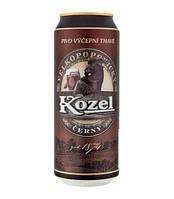Пиво Velkopopovický Kozel «Černý». Темное. 0,5л