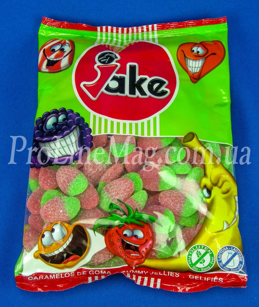 "Жевательный мармелад ""Дикая Клубника"" Jake Pica Sour Wild Strawberries"