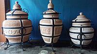 Тандыры, изготовление из шамотных изделий