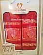 """Подарочный набор полотенец """"Greek"""" (банное+лицевое) TWO DOLPHINS 1629, фото 2"""