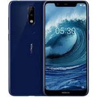 Nokia X5   2 сим,5,86 дюйма,8 ядер,32 Гб,13\8 Мп,3060 мА\ч.