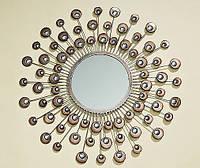 Настенный декор зеркало Расмус шампанское d82см 7642200