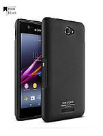 Пластиковый чехол Imak для Sony Xperia E4 черный, фото 1