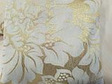Комплект подушок Золото завитки люрекс 2шт, фото 2