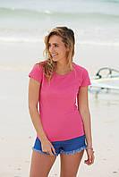 Классическая женская футболка 61-372-0