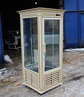 Холодильный шкаф витрина кондитерская «Технохолод Арканзас» 0.6 м. (Украина), прозрачный, Б/у , фото 1