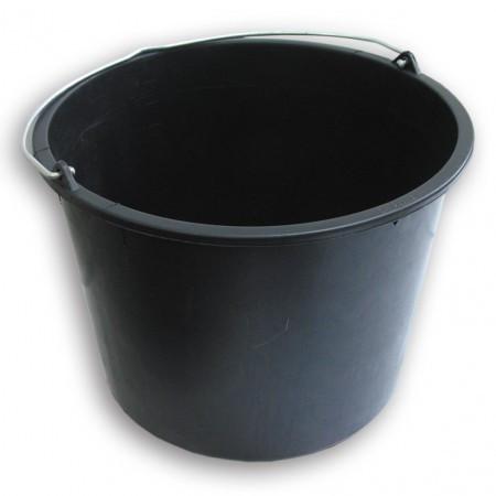 Відро пластмасове чорне (10 л)