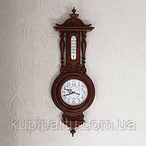 Часы настенные Классика с термометром 9/760 х 105 х 250