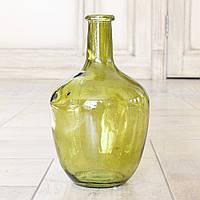 Ваза Trapani зеленое лакированное стекло h25d15см 2246500