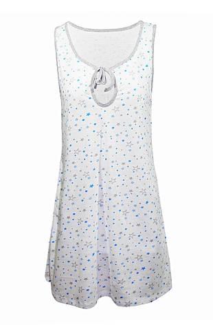 Ночная рубашка Звезды (синие) р. 54-56, фото 2
