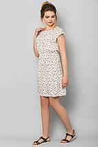 Платье Попугаи на белом, фото 2