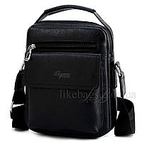 Сумка мужская Effeng планшет черная 54370, фото 1