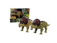 Динозавр Трицератопс (звук, свет)