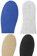 Стельки спортивные в ассортименте (синие, бежевые, черные)