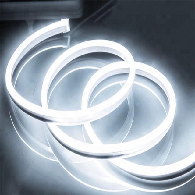 Светодиодный уличный гибкий неон LTL FLEX 8х16mm 120 LED 2835smd IP67 220v White