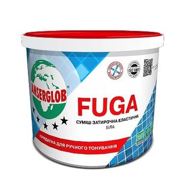 Смесь для заполнения швов Ансерглоб Фуга (Anserglob Fuga) белая (3 кг)