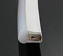 Светодиодный уличный гибкий неон LTL FLEX 8х16mm 120 LED 2835smd IP67 220v Green, фото 2