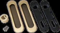 Ручки для раздвижных дверей, комплект Siba Золото